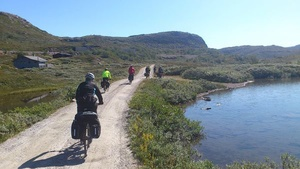 Biking the Arctic Coast